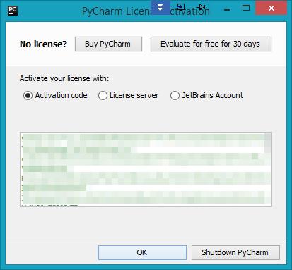 pycharm activation code download